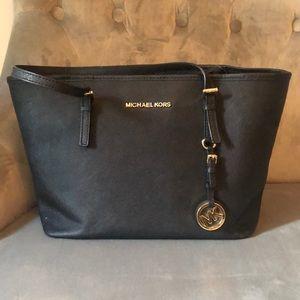 MK Black Saffiano Leather Tote